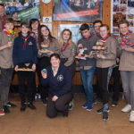 Elloughton-cum-Brough Explorer Section raise funds with an afternoon tea at the scout hut